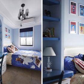 兩室兩廳地中海風設計效果圖之兒童房