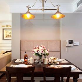 76平美式風復式兩居餐廳餐桌選擇