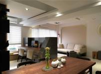 全室搭配訂制家具 是專為居住者設計的款式