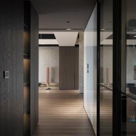142平簡約風格公寓走廊裝修設計效果圖