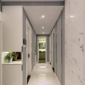 經典時尚89平三居室之走廊裝飾效果圖
