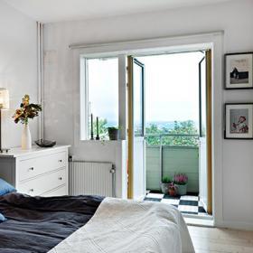 卧室-一醒来就能看到窗外的美景