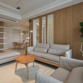 客廳-不刻意裝飾就是日系風格的表現方法了