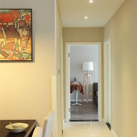 80平米雅致時尚公寓房間走廊裝飾效果圖