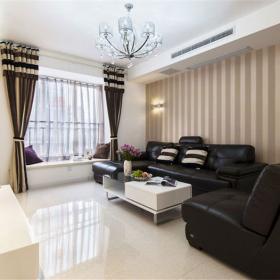 簡約現代兩居室客廳裝修效果圖