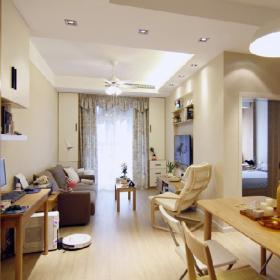 小戶型日式風格客廳圖片