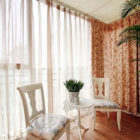 清新美式田園風格二居室起居室裝飾