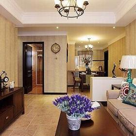 日式设计客厅图片