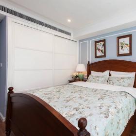 76平美式風復式兩居臥室壁柜效果圖