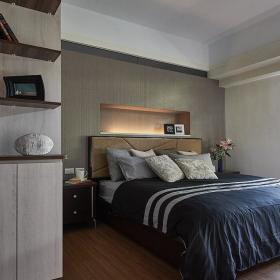 83平簡約現代小戶型之臥室裝修效果展示