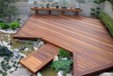 庭院复合实木地板装修效果图