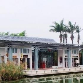 新中式建筑庭院图片效果图