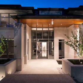 小洋房別墅庭院庭院景觀小別墅小院大氣時尚的別墅外觀設計效果圖欣賞