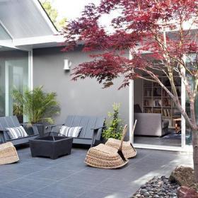 日式风格庭院装修图片日式风格沙发图片装修效果图