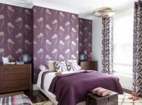 居室家装紫色系装修效果图