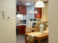 简约风格公寓温馨原木色富裕型餐厅装修效果图
