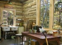 房间欧式风格一层别墅及简单实用原木色家居设计图效果图
