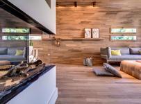 欧式风格原木色沙发背景墙设计效果图