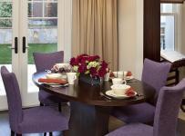 餐厅家装紫色系装修效果图