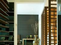 原木色91-120平米二居室锦绣世家古典风格玄关过道装修效果图