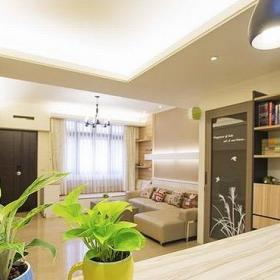 現代簡約風格公寓原木色120平米榻榻米定做效果圖