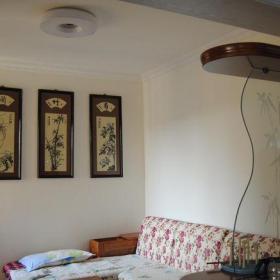 原木色61-90平米二居室两居室中式风格吧台装修效果图