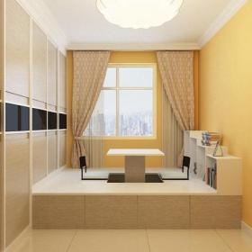 原木色40平米以下日韩一居室15平米日式风格卧室装修实景图效果图