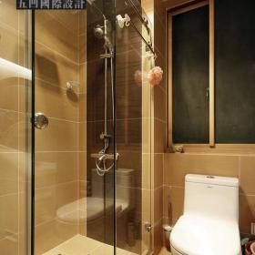 簡約風格公寓溫馨原木色富裕型衛生間改造效果圖