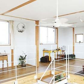 loft風格原木色小戶型二樓效果圖