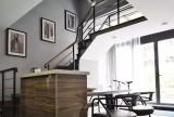 70㎡的小复式公寓楼梯设计效果图