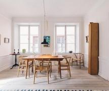 75平清新宜家兩居之餐廳裝修設計效果賞析