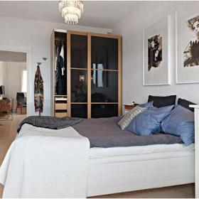 小戶型臥室整體衣柜圖片