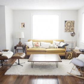 宜家簡約風別墅客廳設計