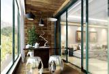小清新实用简约阳台 变身舒适会客区效果图