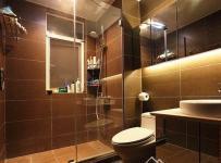 现代简约三居室卫生间装修图片欣赏效果图