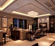 新中式家居装修效果图
