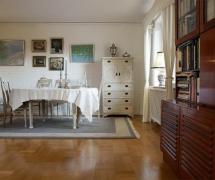 北欧风格农村二层小别墅餐厅背景墙装修图片