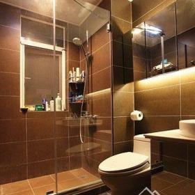 現代簡約三居室衛生間裝修圖片欣賞效果圖