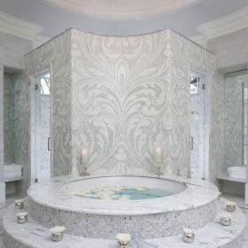 现代卫生间瓷砖装修效果图大全