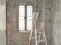 厨房墙地面拆除情况效果图