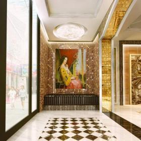 別墅走廊地面鋪裝圖效果圖