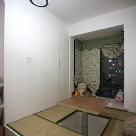 簡約風格一居室富裕型60平米飄窗榻榻米安裝圖效果圖