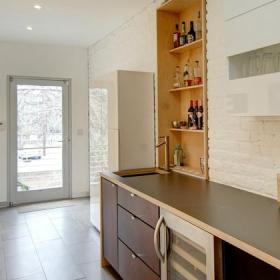 美式风格客厅单身公寓设计图艺术收纳柜?#35745;?#25928;果图