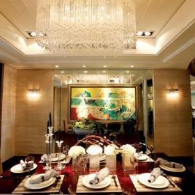 吊頂背景墻歐式吊頂餐廳背景墻簡歐風格餐廳裝修圖片效果圖大全