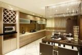 酒柜台面家居收纳现代风格厨房间装修效果图现代风格橱柜图片