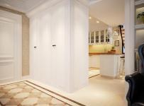 176㎡三居室歐式風格玄關地面拼花裝修效果圖歐式風格進門鞋柜圖片
