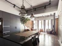 地板地砖loft风格工业风水泥地面设计图效果图