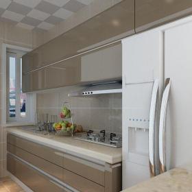 現代簡約二居室廚房燈具裝修效果圖欣賞