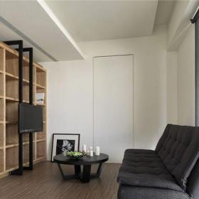 現代簡約五居室書房飄窗裝修效果圖欣賞