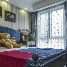 混搭风格二居室卧室吊顶装修效果图欣赏